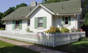 Cute picket fence